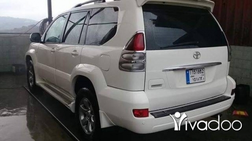 Toyota in Tripoli - تويوتا برادو موديل ٢٠٠٩