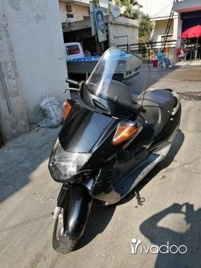 Beeline in Beirut City - Honda foresight & Yamaha Aprio