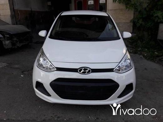 Hyundai in Beirut City - Grand i10 white 2016