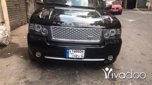 Land Rover in Beirut City - Rangrover 2005 look 2012