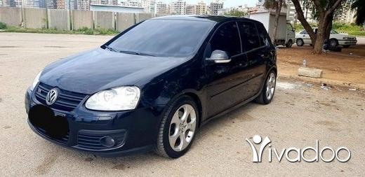 Volkswagen in Beirut City - Golf 5 gt 1.4 turbo manual