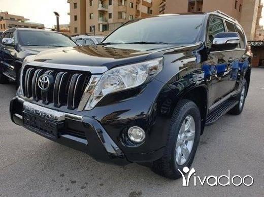 Toyota in Port of Beirut - 2014 Prado VX-R black on black
