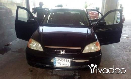 Honda in Port of Beirut - هوندا سيفي موديل ٢٠٠٢