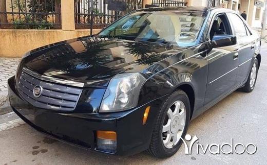 Cadillac in Tripoli - Cadillac CTS Model 2003 full 6 cilander