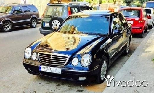 Mercedes-Benz in Tripoli - mercedes 230 mod 1997
