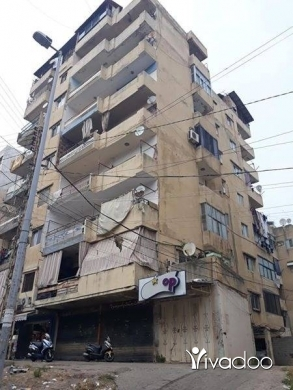 Apartments in Tripoli - شقه طابق تامن  طريق مرجوالزوهور