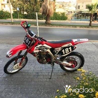 Aprilia in Nabatyeh - crf 450cc foul cross