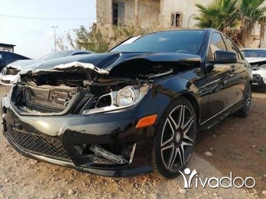 Mercedes-Benz in Tripoli - 2013 Mercedes C250 black