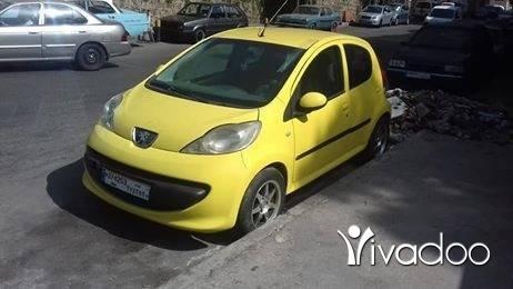 Peugeot in Beirut City - للبيع بيجو 107