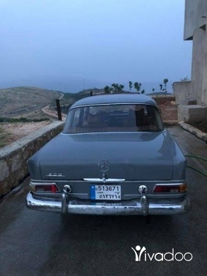 Mercedes-Benz in Beirut City - Mercedes antique 1966 in a good condition
