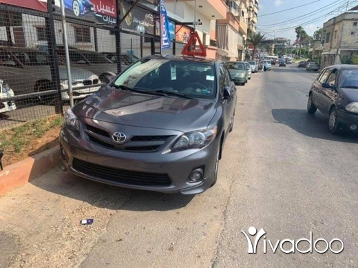 Toyota in Beirut City - Toyota corolla S 2012 immaculate condition