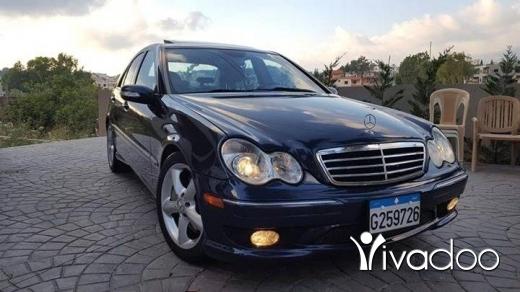 Mercedes-Benz in Beirut City - C230 kompressor ٤سلندر mod 2005 tel 70882028