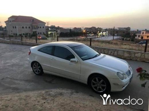 Mercedes-Benz in Beirut City - Mercedes C230 Coupe خارقه النظافه