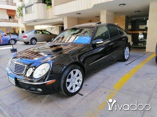Mercedes-Benz in Beirut City - E350 MODEL 2006 FUll Option اسود اسود سياره كثيركثير نظيفه شركه السعر نهائي نهائي