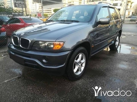 BMW in Beirut City - BMW X5 model 2002 3.0,, for info call plz 03435035