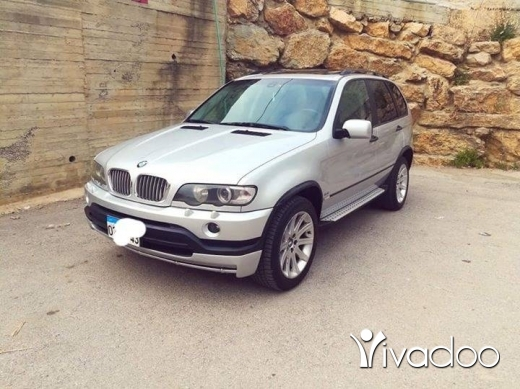 BMW in Beirut City - Bmw x5 2001 silver