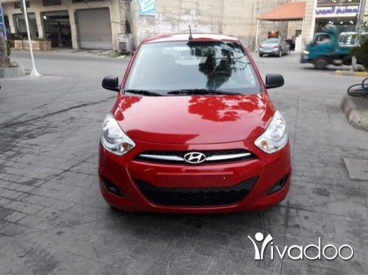 Hyundai in Beirut City - Hyundai i10 red 2015