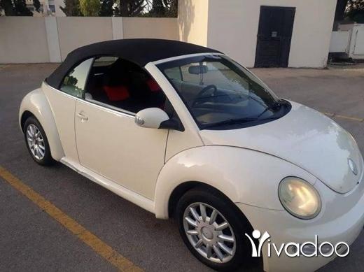 Volkswagen in Beirut City - Beetle model 2005