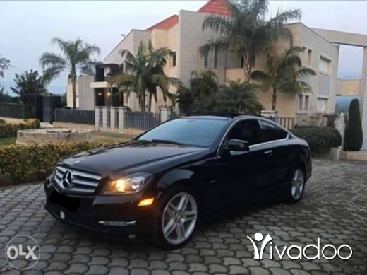 Mercedes-Benz in Beirut City - Mercedes c 250 coupe