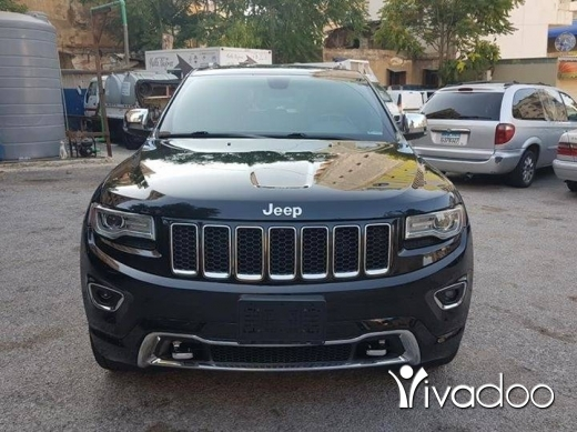 Jeep in Beirut City - Grand Cherokee 2014 overland