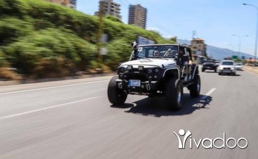 Jeep in Beirut City - Jeep wrangler sahara 2007 fully loaded