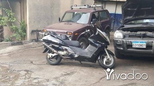 Baotian in Beirut City - Silverwing 400cc motera