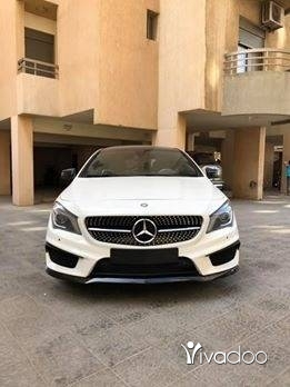 Mercedes-Benz in Tripoli - 2015 mercedes CLA sport