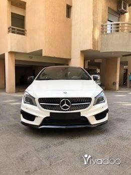 Mercedes-Benz in Tripoli - 2015 mercedes CLA sport
