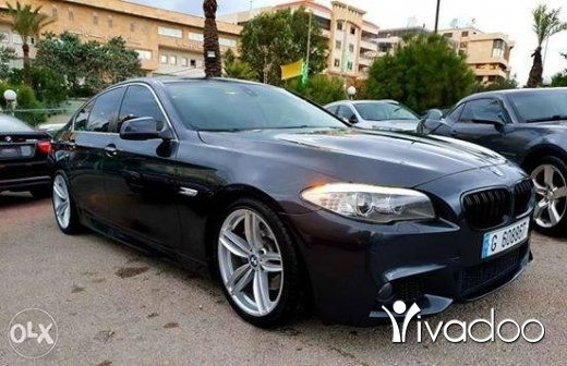 BMW in Port of Beirut -  2011 bmw 528i m sport.