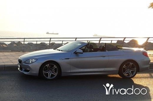 BMW in Beirut City - Bmw 650 i v8 full options 5.0 twin turbo ajnabiyi