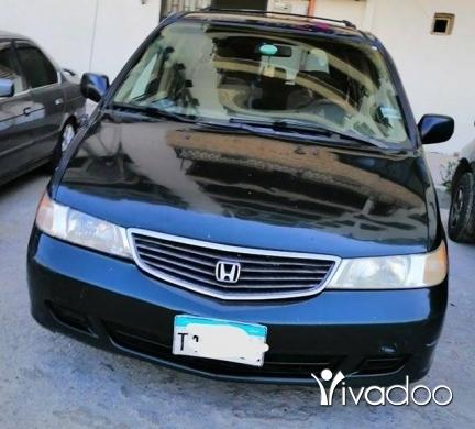 Honda in Tripoli - هوندا اوديسي موديل ٩٩