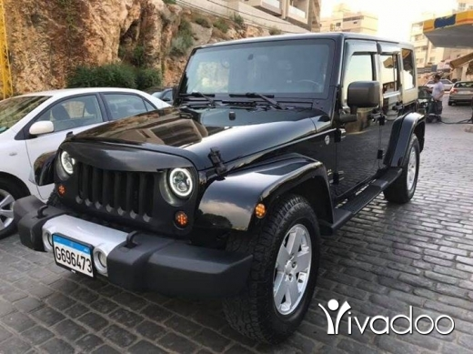 Jeep in Beirut City - Jeep wrangler 2008