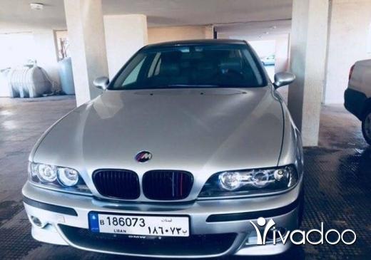 BMW in Beirut City - E39 model 98 full look m5