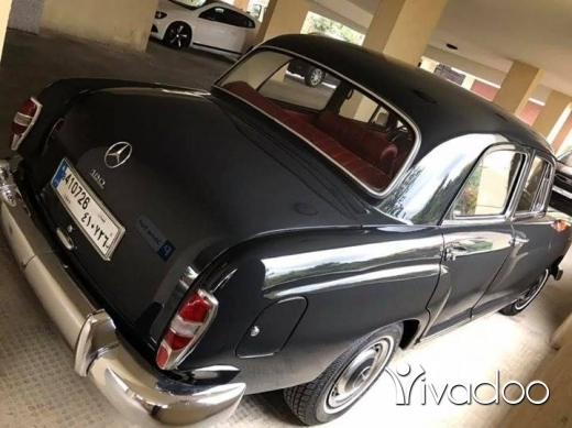 Mercedes-Benz in Beirut City - Mercedes 180 mod 1961