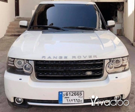 Land Rover in Beirut City - Range rover vogue HSE 2008 autobiographie