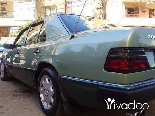 Mercedes-Benz in Tripoli - مرسيدس٢٠٠