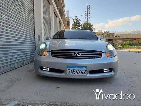 Infiniti in Zahleh - G35 MODEL 2004