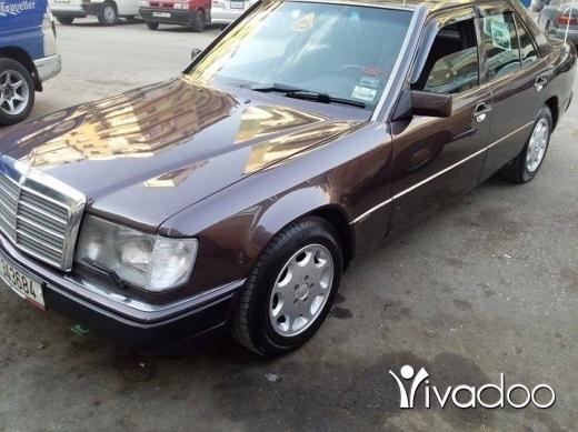 Mercedes-Benz in Tripoli - مرسيدس ٢٣٠