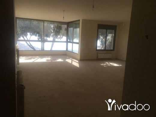Apartments in Beit el Chaar -  A 170 m2 apartment having an open sea view for sale in Beit El Chaar