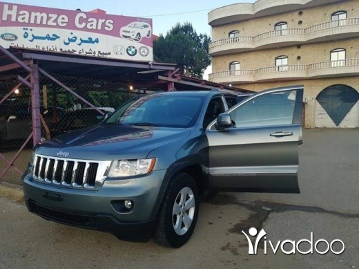 Jeep in Beirut City - JEEP GRAND CHEROKEE V6 MOD2012 FULL OPTION CLEAN CARFAX