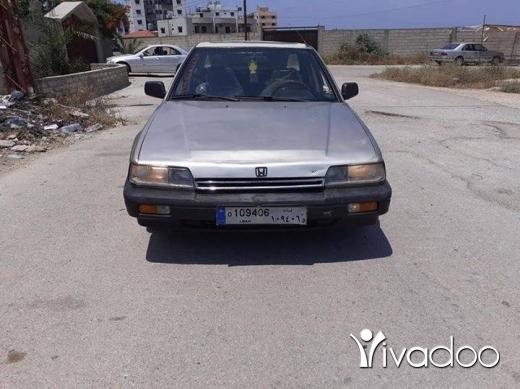 Honda in Tripoli - هوندا اكورد مودال ٨٨ اوتمتيك فول ابشن انقاض