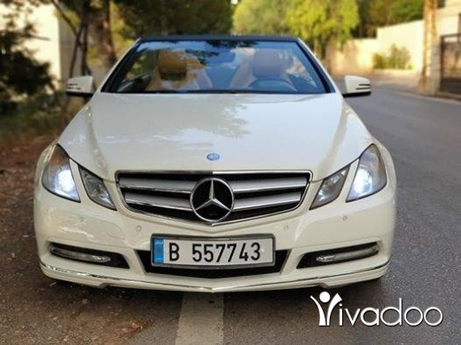 Mercedes-Benz in Port of Beirut - E200 CGI Convertible