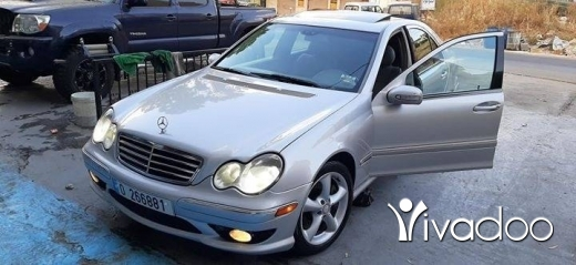Mercedes-Benz in Nabatyeh - C230 2005 full ma3 r2am mayaz 3all tisjell