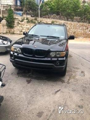 BMW in Beirut City - Bmw x5 mod 2005 black on black for infos 03349599