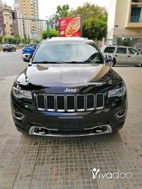 Jeep in Port of Beirut - GRAND CHEROKEE 2014 V6 OVERLAND 4X4 اسود اسود كثير كثير نظيف