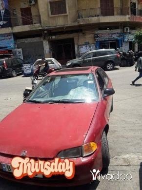 Honda in Tripoli - هوندا سيفيك ١٩٩٣