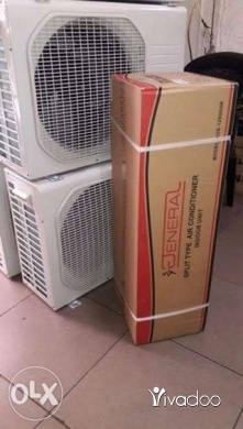 Air Conditioners & Fans for Sale in Beirut City - مكيف جديد ماركه جنرال انفير معمل سامسونج بسعر خيالي