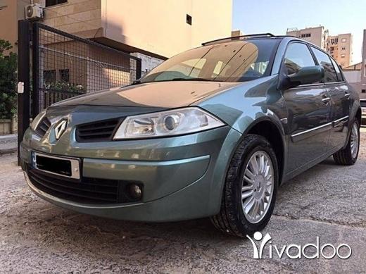 Renault in Tripoli - رينو ميجان موديل ٢٠٠٠٩ فول الزوايد