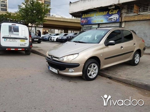 Peugeot in Beirut City - Peugeot 206 model 2009