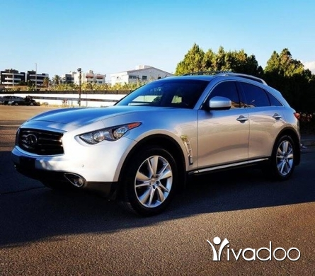 Infiniti in Beirut City - INFINITI FX 35/model 2012/silver